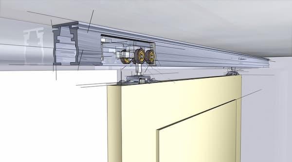 раздвижная система для шкафа купе